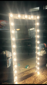 Custom, Hollywood Lighted Design Mirrors - made to order in Baytown, Texas