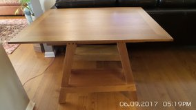 OLD  WOOD TABLE / OFFICE WITH REMOVABLE TOP in Oswego, Illinois