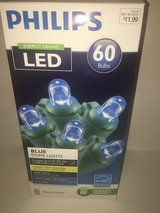 Mini LED Blue Dome Lights in Plainfield, Illinois
