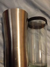 STAINLESS/GLASS COCKTAIL SHAKER in Fairfield, California