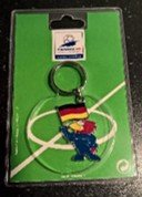 WORLD CUP FOOTBALL FRANCE SOCCER 98 MASCOT KEY RING in Ramstein, Germany
