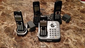 Cordless phones and digital answering machine in Beaufort, South Carolina