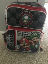 Backpack Super Mario rolling in Naperville, Illinois