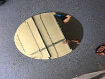 """Oval mirror 31"""" long by 21"""" wide in Naperville, Illinois"""