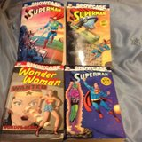 4 DC COMICS THICK BOOKS COLLECTION  (500 pages ea.) in Travis AFB, California