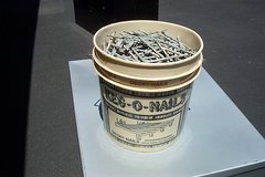 10 POUND KEG  OF DECK NAILS in Naperville, Illinois