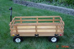 Custom Kids Oak Wagon in Naperville, Illinois