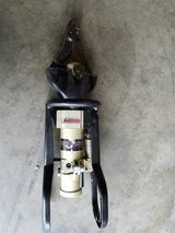 "Hand operated cutting/spreading tool ""jaws of life"" in Fort Campbell, Kentucky"