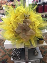 Sunflower mesh wreath ?? in Fort Bragg, North Carolina
