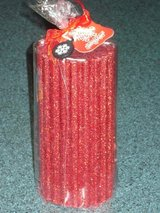 """NWT 6"""" sparkly candle in Aurora, Illinois"""