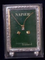 Vintage Napier Perfectly Framed Necklace &  Earrings Set in Houston, Texas