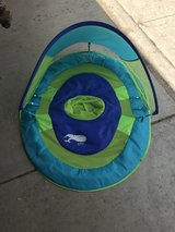 Baby pool float in Naperville, Illinois