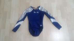 GK Blue and Silver Leotard Sz Adult XS in Bolingbrook, Illinois