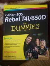 Canon T4i for Dummies in Fort Polk, Louisiana