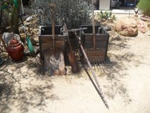 ===  Assorted Yard Art Tools  === in Yucca Valley, California