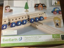 EverEarth Wooden Train Set in Aurora, Illinois