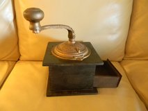 Imperial Antique Coffee Grinder by Arcade Manufacturing Company in Westmont, Illinois