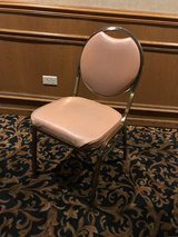 Regal Manufacturing brass frame Vinyl padded seat & back stack chairs in Chicago, Illinois