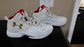 Under Armour Stef Curry shoes in Pasadena, Texas