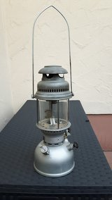 "Original Bundeswehr German-Made Petromax ""Geniol"" Oil Lantern in Spangdahlem, Germany"