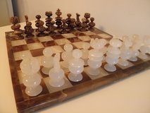Onyx Chess Set in Plainfield, Illinois