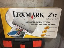 Lexmark Z11 Color Inkjet Printer Brand New in Sealed Box in Naperville, Illinois