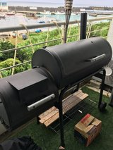 Charcoal Smoke Box Grill with Cover in Okinawa, Japan