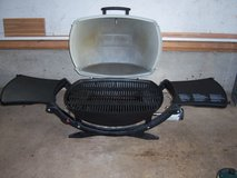 WEBER MODEL 220 PORTABLE GRILL (USED ONCE) in Naperville, Illinois