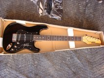 Electric Guitar signed by Bob Dillon in Yucca Valley, California