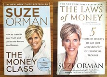 Suze Orman The Money Class and The Laws of Money Book Paperback Lot of 2 in St. Charles, Illinois