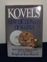 Kovels' Dictionary of Marks—Pottery & Porcelain: 1850-Present HB in Houston, Texas
