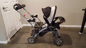 Sit N Stand Double Stroller in Naperville, Illinois