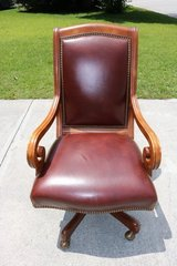Leather Office Chair in Wilmington, North Carolina