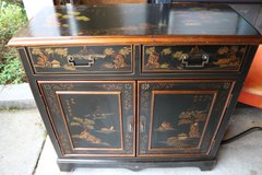 Hand Painted Chinese/Oriental Cabinet in Wilmington, North Carolina