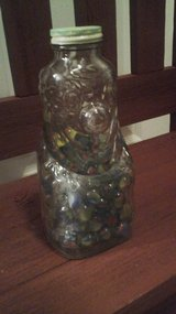 1950's  Vintage / Antique Child's Clown Bank With Marbles in Aurora, Illinois