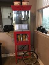 popcorn machine and accessories in Glendale Heights, Illinois