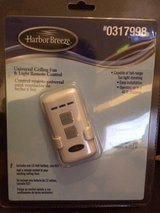 Harbor Breeze Universal Ceiling Fan & Light Remote Control + Receiver, includes 12 Volt Battery ... in Plainfield, Illinois
