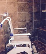 Aquatec OceanDual Shower/Commode Chair in Houston, Texas