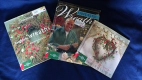 Lot of 3 Books for Creating Homemade Wreaths in Lawton, Oklahoma