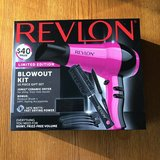 Revlon Limited Edition Blowout Kit-New in Naperville, Illinois