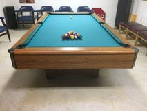 Double slate pool table in Cherry Point, North Carolina