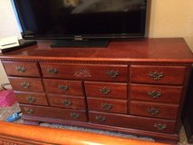Solid wood dresser and tall dresser in Lawton, Oklahoma