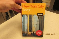 """Fodor's"" New York City Tour Guide Book in Kingwood, Texas"