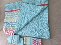Twin XL comforter/sheet set in St. Charles, Illinois