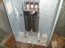 3 Phase panel box w/breakers in Camp Lejeune, North Carolina