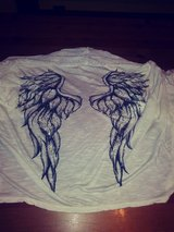 Angel wings cardigan in The Woodlands, Texas