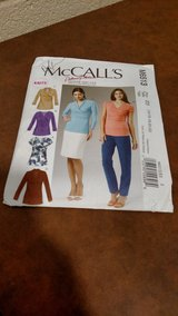 MCCALL'S PATTERNS M6513 MISSES' TOPS, SIZE E5 (14-16-18-20-22) (T=40/6) in Fort Campbell, Kentucky