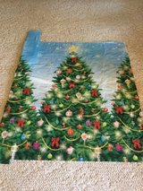 Christmas mural or tablecloth? in Yucca Valley, California