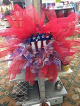 American star wreath in Fort Bragg, North Carolina