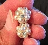 Faux Pearl Earrings in Naperville, Illinois
